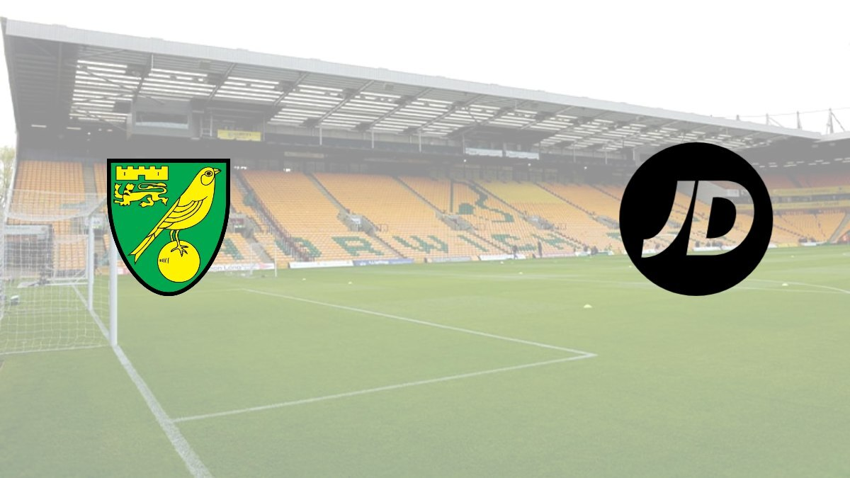 JD Sports signs deal with Norwich City to become official sleeve sponsor