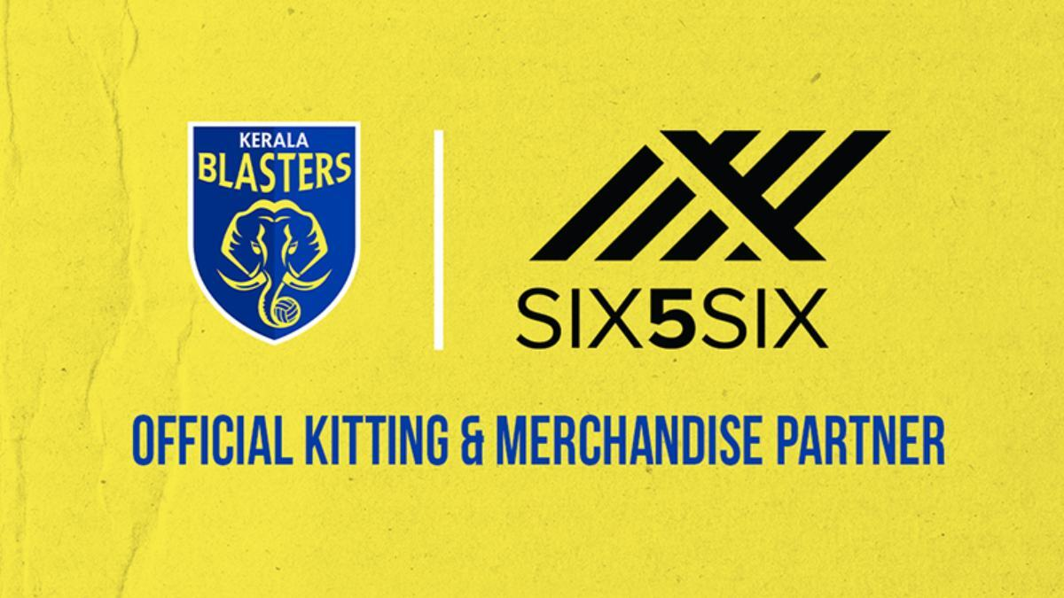 Kerala Blasters sign 3 years Merchandise Partnership with SIX5SIX