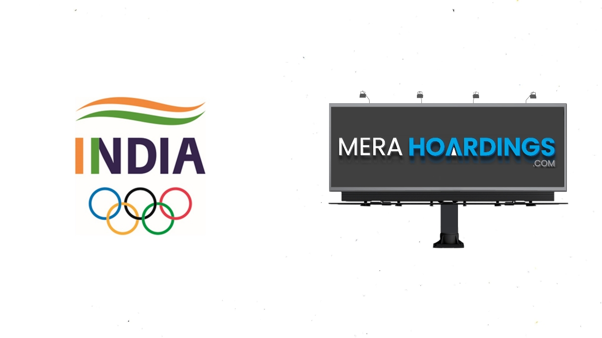 Mera Hoardings collaborate with IOA for supporting athletes in OOH formats