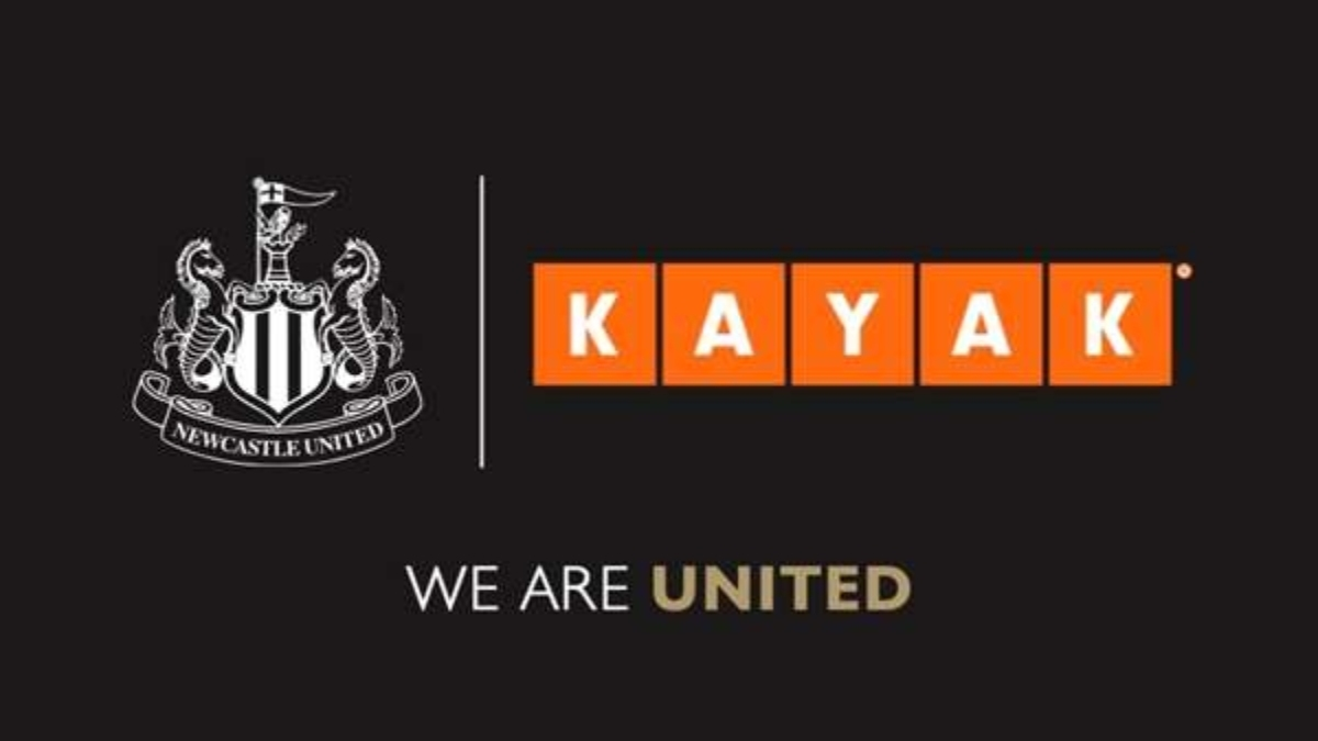 Newcastle United sign a two-year kit sponsorship deal with KAYAK