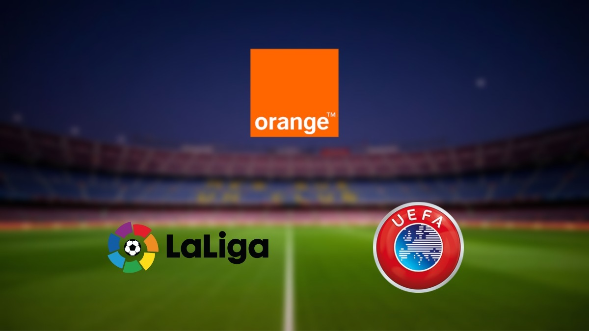 Orange renews $356M deal for rights of La Liga and UEFA club competitions