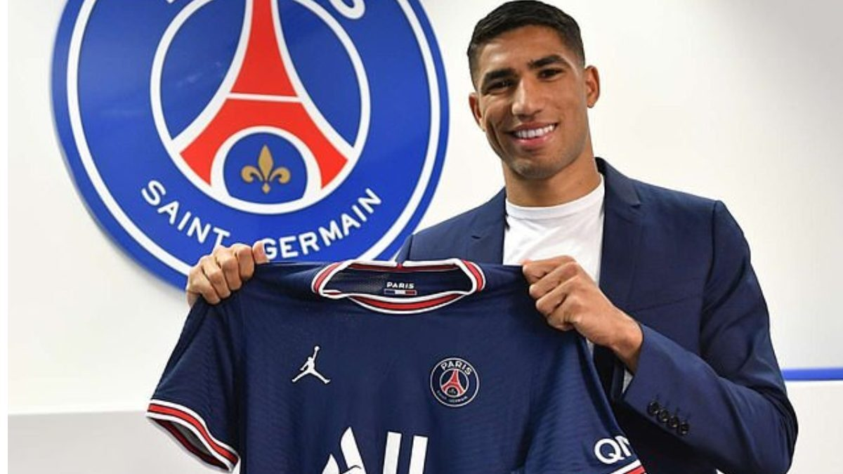 PSG confirms signing of Morocco international Achraf Hakimi