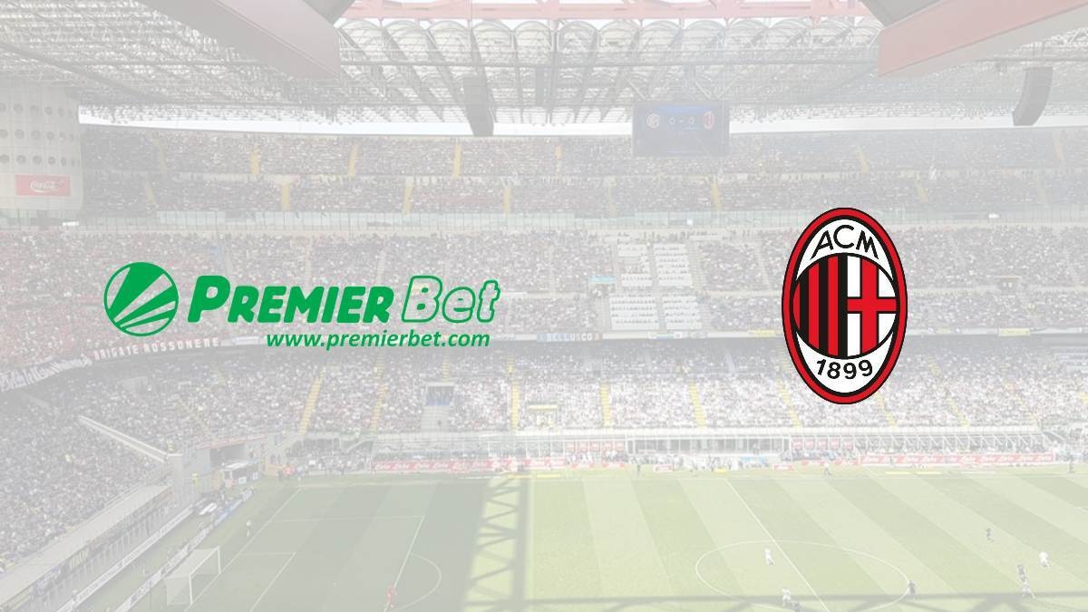 Premier Bet signs up with AC Milan to become the club's official betting partner