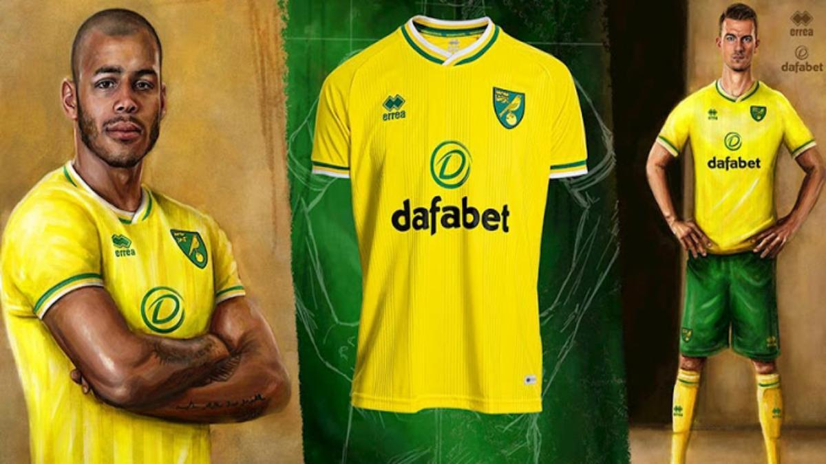 Premier League Norwich City signs a new kit sponsorship deal with Joma