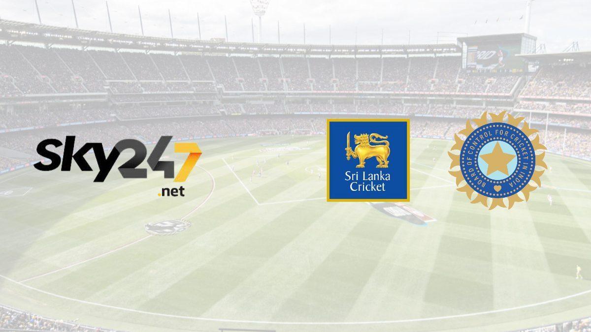 Sky274.net to be associate sponsor for India Tour of Sri Lanka