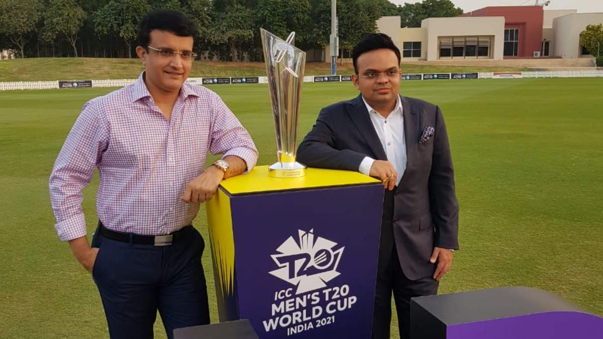 Sourav Ganguly and Jay Shah to attend T20 World Cup 2021 draw ceremony in Oman