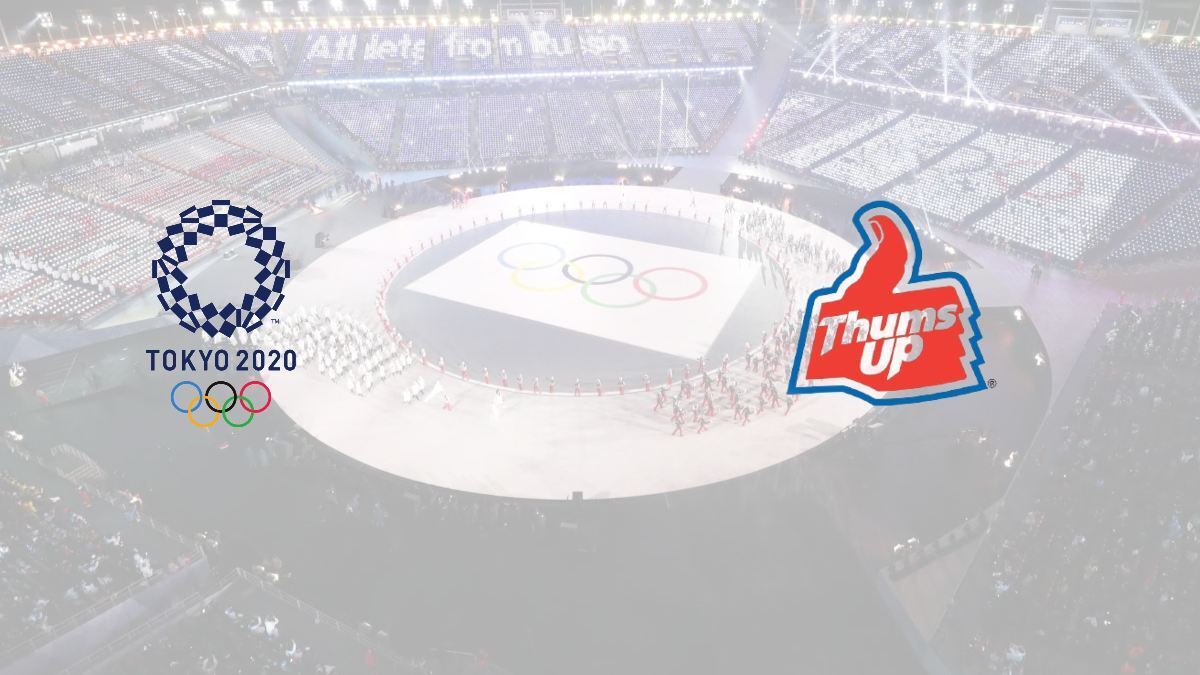 Thums Up announces worldwide sponsorship deal with Tokyo Olympics 2020