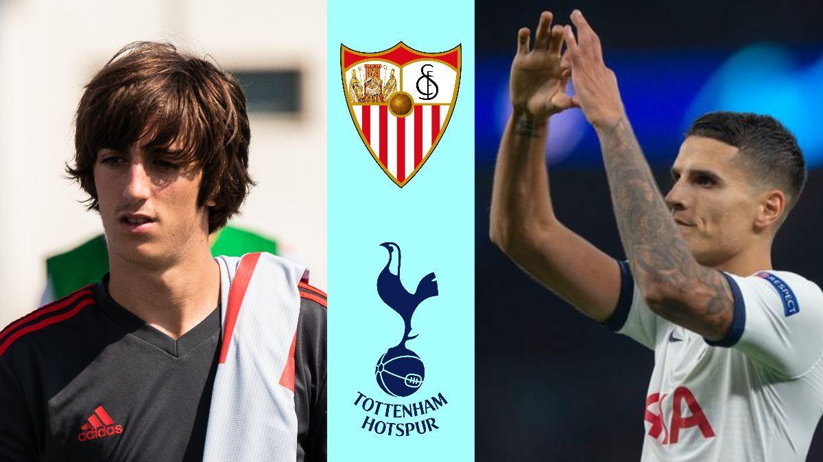Tottenham sign winger Bryan Gil in exchange for €25 million and Erik Lamela
