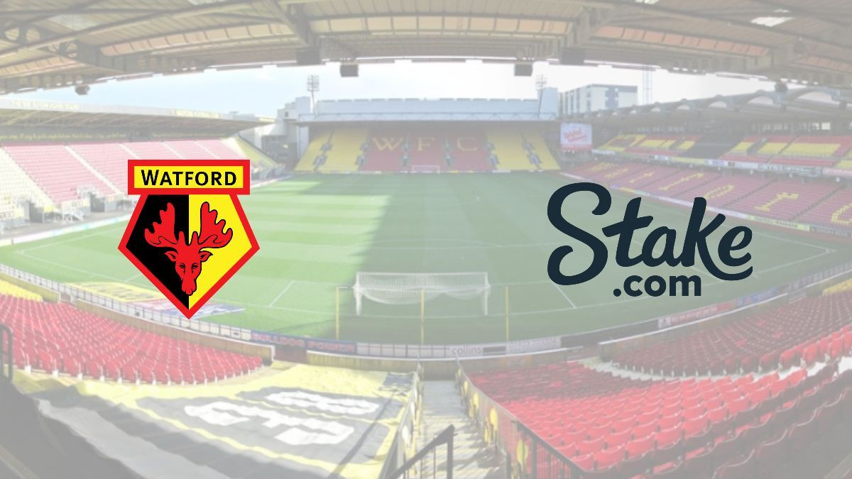 Watford signs shirt sponsorship deal with Stake.com