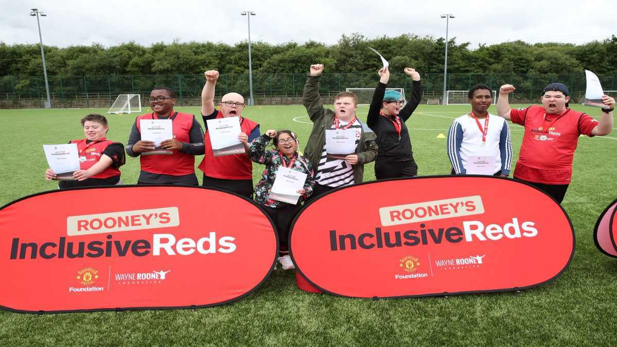 Wayne Rooney Foundation join forces with Manchester United Foundation