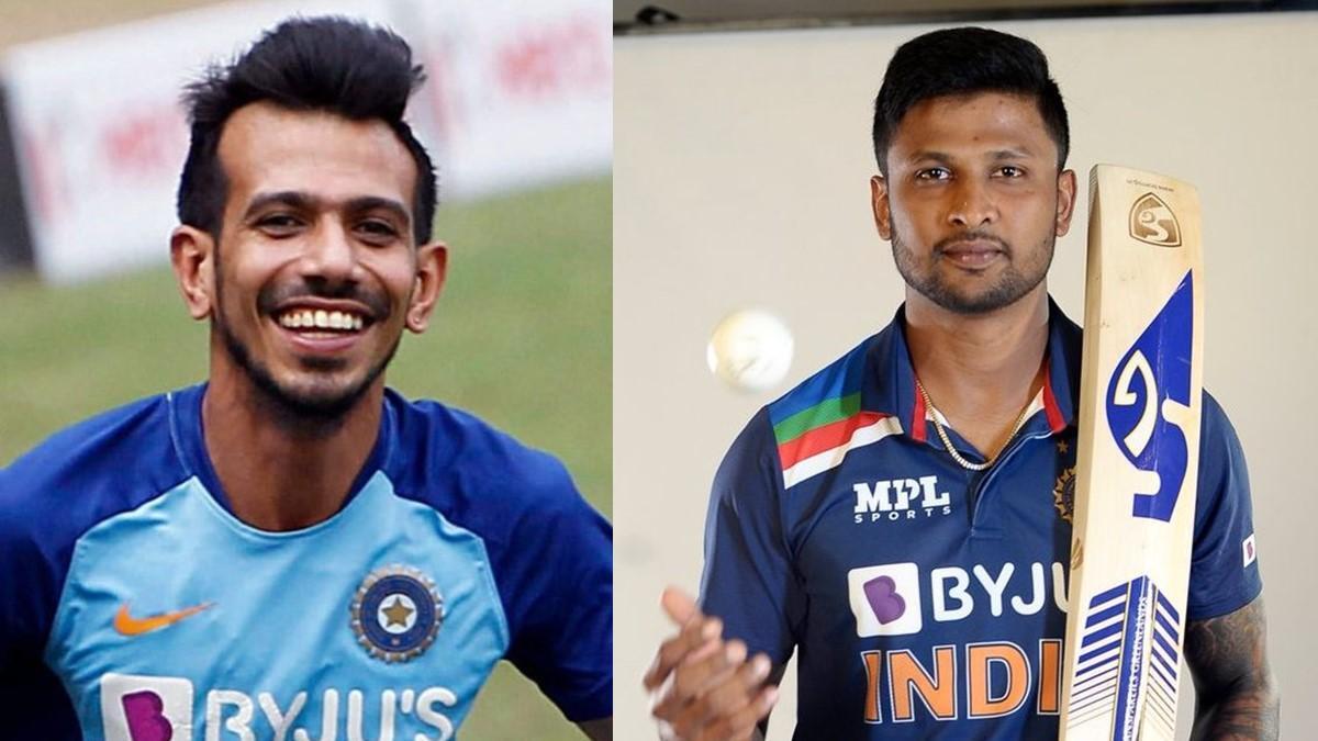 Yuzvendra Chahal and Krishnappa Gowtham tests COVID-19 positive after series against Sri Lanka