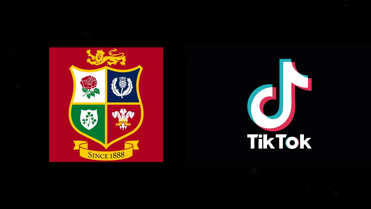 Lions sign up with TikTok for BTS content