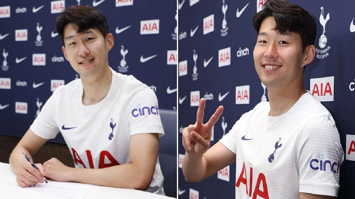 Heung min-Son extends his contract with Tottenham Hotspur till 2026