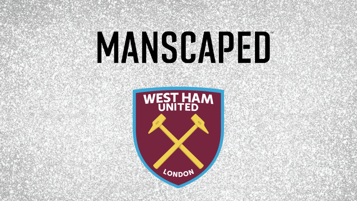 West Ham United announces Manscaped as their official grooming partner