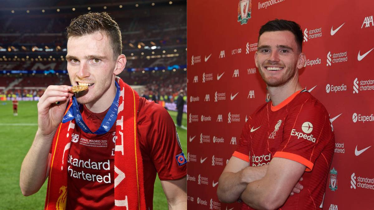 Andy Robertson renews contract with Liverpool FC