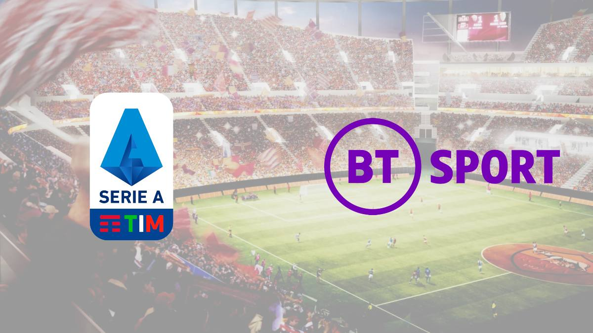 BT Sport signs exclusive broadcasting rights with Serie A