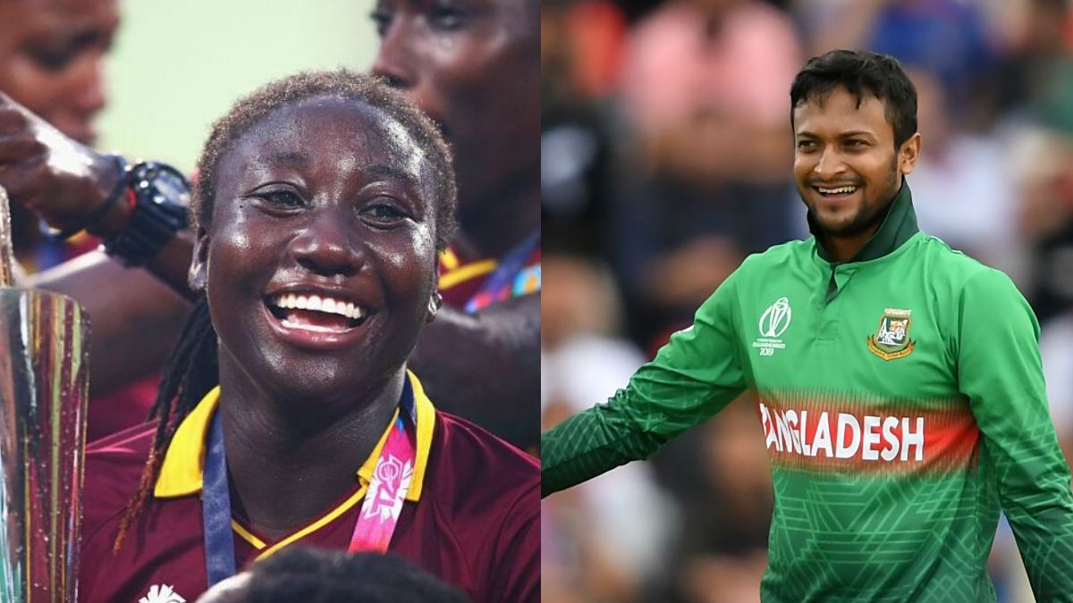 Shakib Al Hasan, Stafanie Taylor named ICC Players of the Month for July