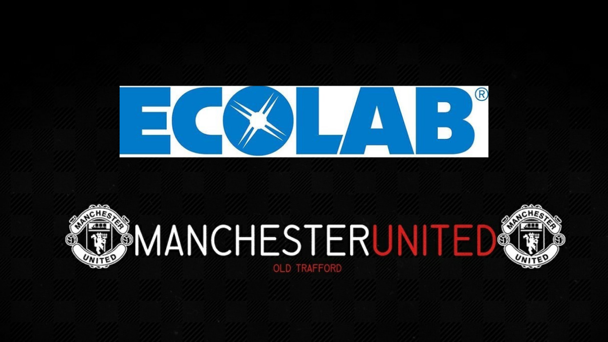 Green hygiene company Ecolabs to provide Manchester United with sustainable products