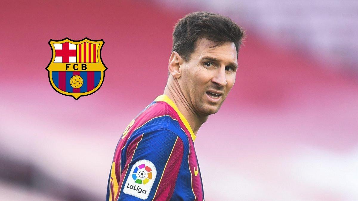 FC Barcelona announces Lionel Messi's departure