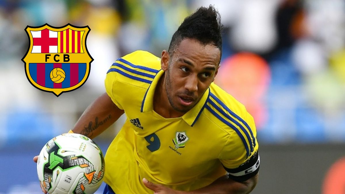 FC Barcelona reportedly interested in signing Pierre-Emerick Aubameyang