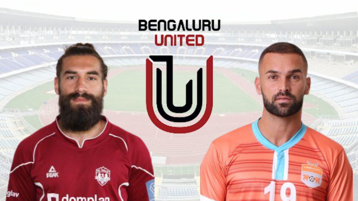 FC Bengaluru United sign strikers Luka Majcen and Pedro Manzi