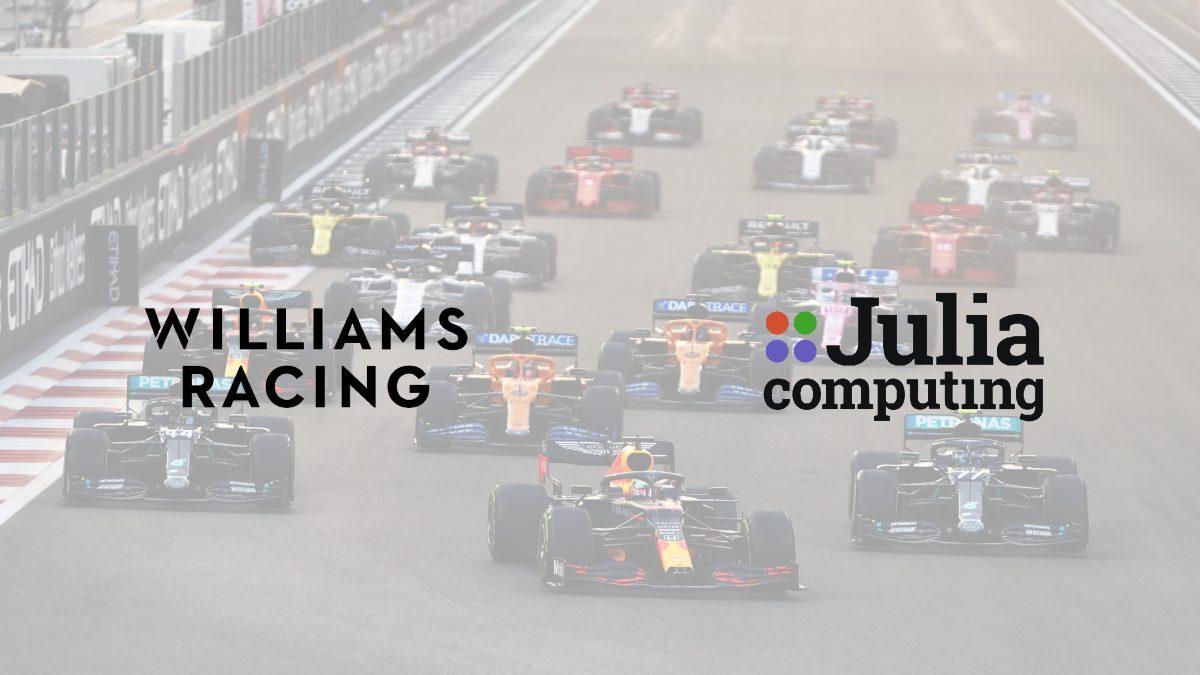 Formula One Williams Racing signs partnership deal with Julia Computing