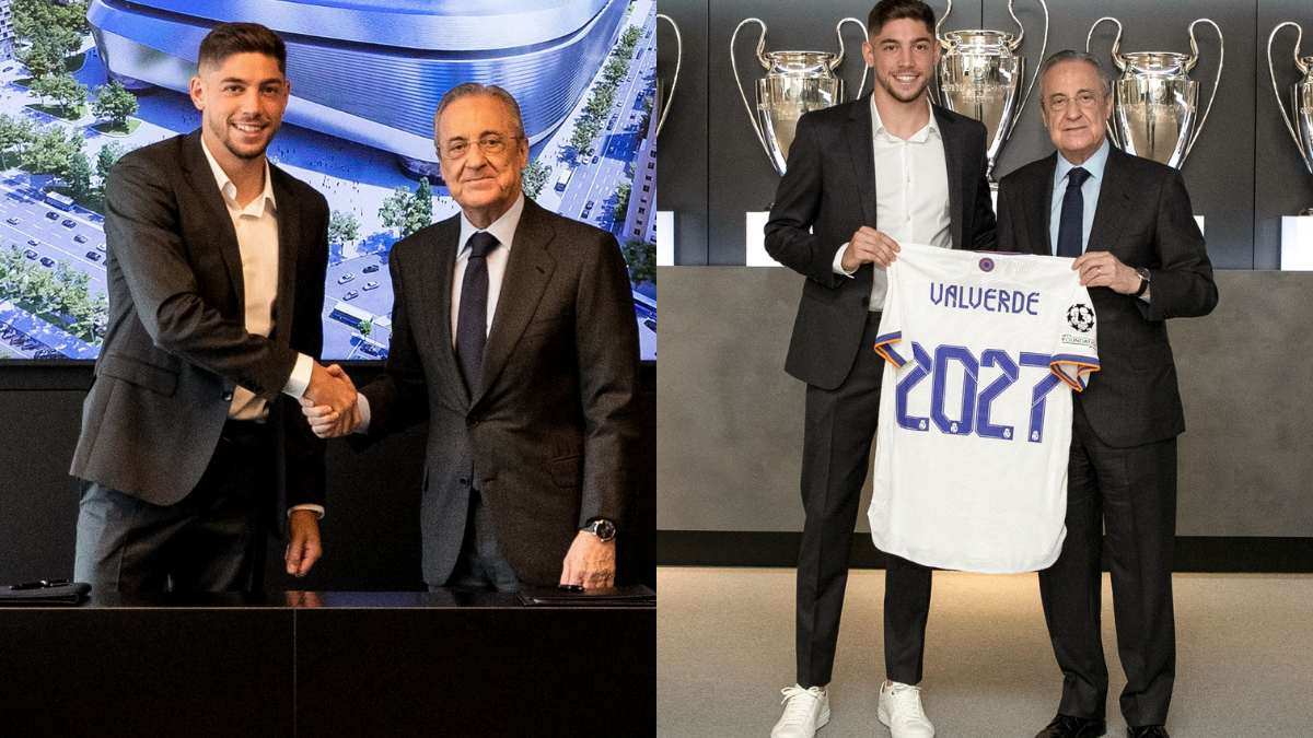 Federico Valverde extends contract with Real Madrid CF till 2027