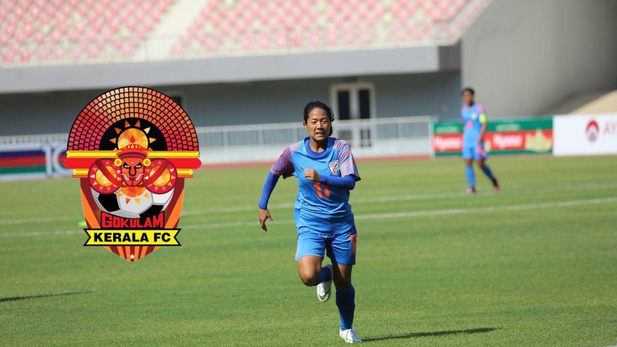 Grace Dangmei signs with Gokulam Kerala FC