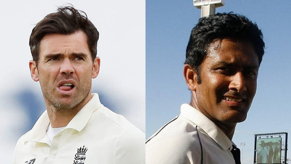 James Anderson goes past Anil Kumble; becomes 3rd highest wicket-taker in Tests
