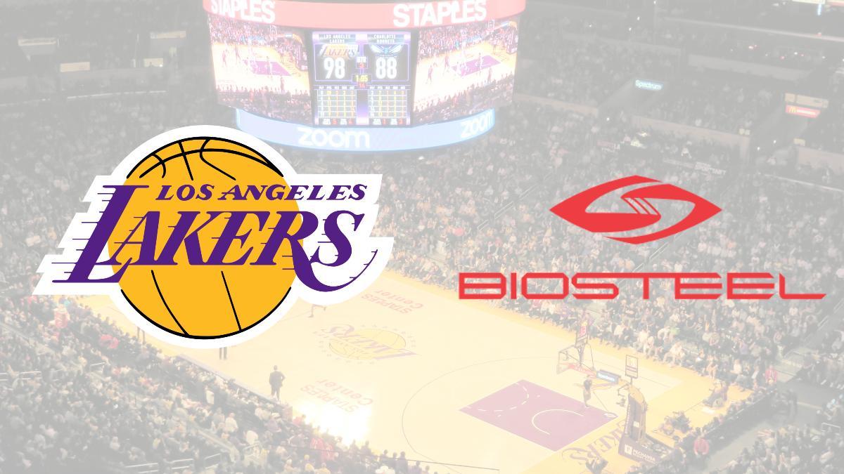 LA Lakers sign sponsorship deal with BioSteel as sports drink sponsor