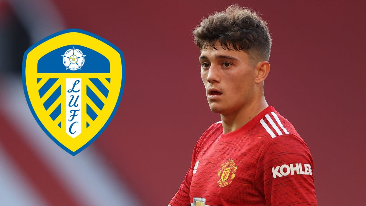 Leeds United sign Daniel James from Manchester United