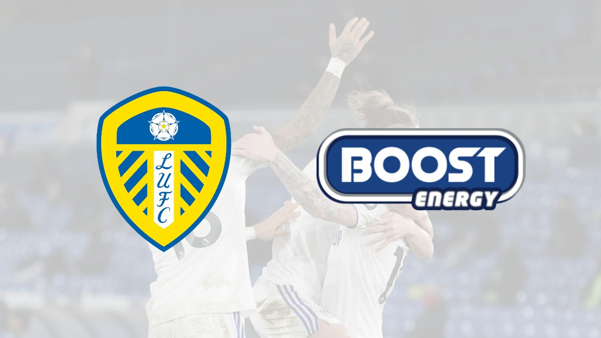 Leeds United signs a new energy drinks partner