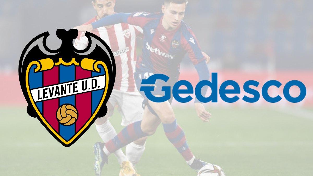 Levante sign Gedesco as new shirt sponsor