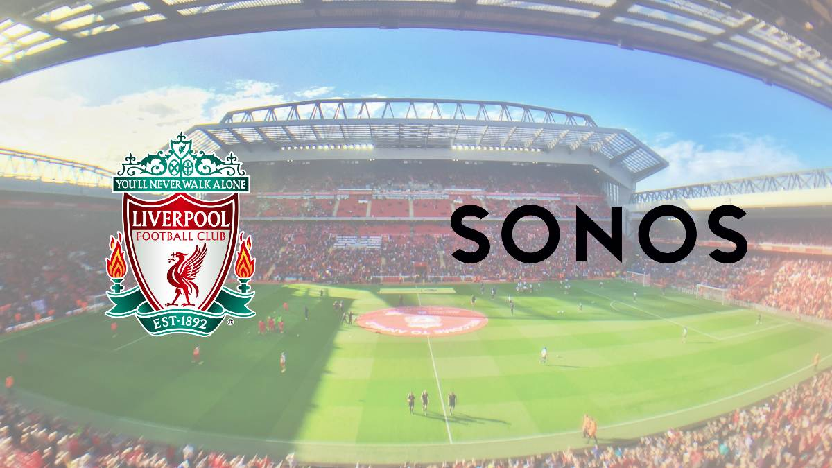 Liverpool signs global partnership deal with Sonos
