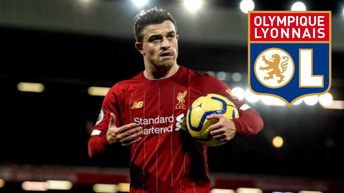Lyon acquires Xherdan Shaqiri from Liverpool for £9.5m