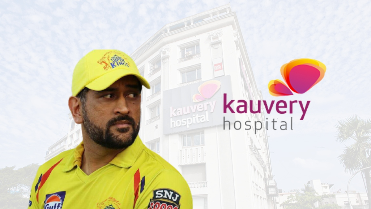 MS Dhoni joins Kauvery Group of Hospitals as brand ambassador