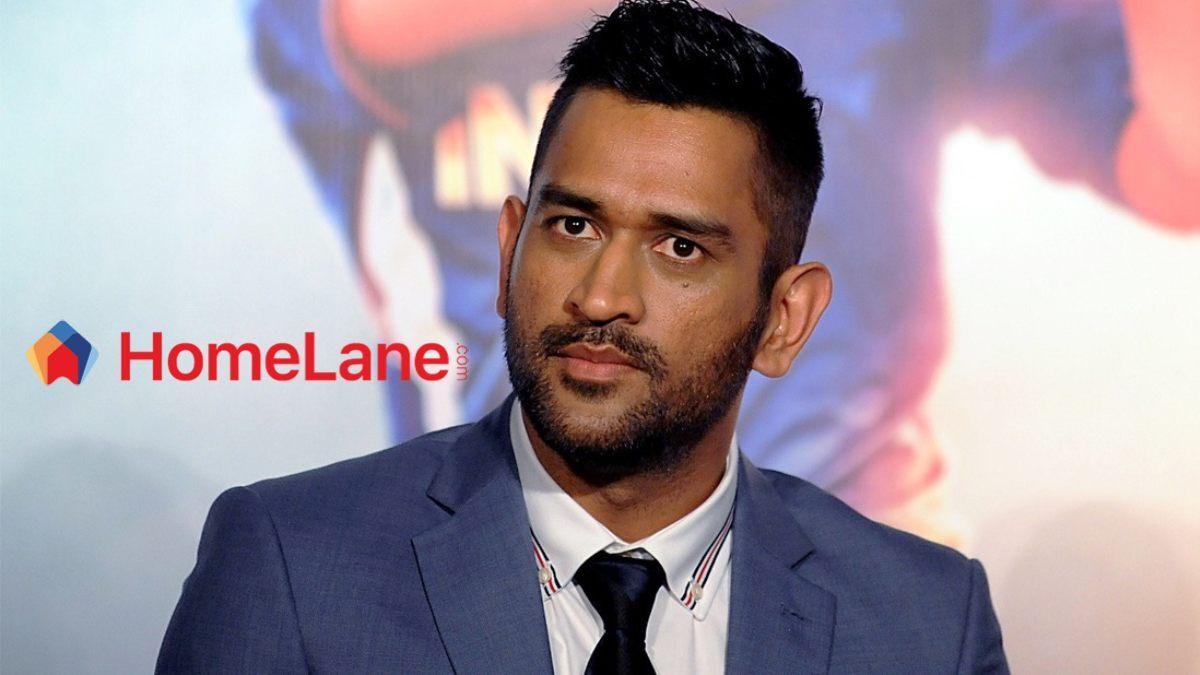 Mahendra Singh Dhoni joins HomeLane as brand ambassador