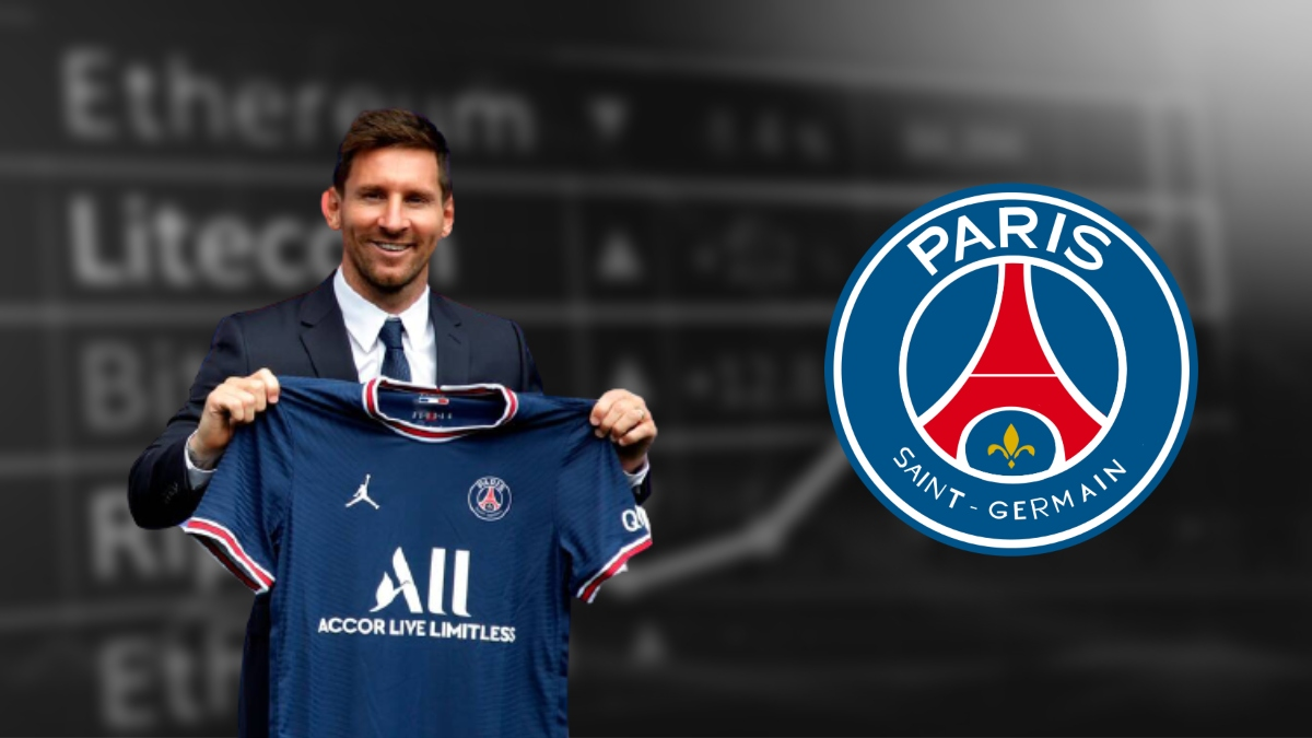 Messi to secure a section of PSG fee in crypto