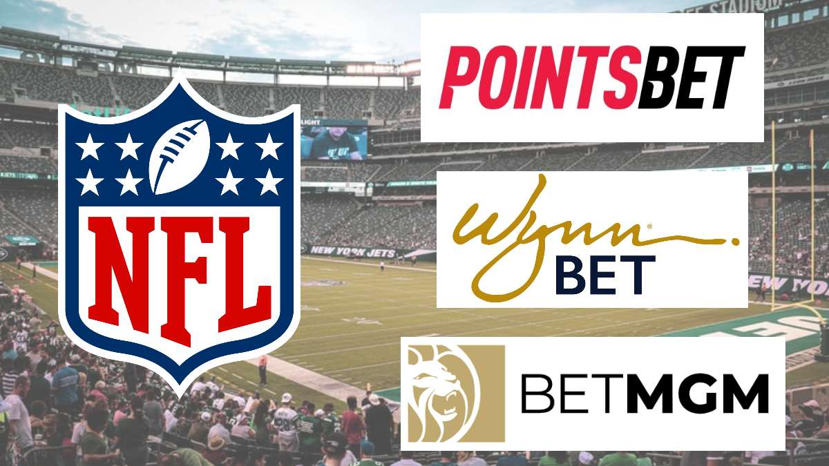 NFL signs new sports betting deals with BetMGM, PointsBet and WynnBet