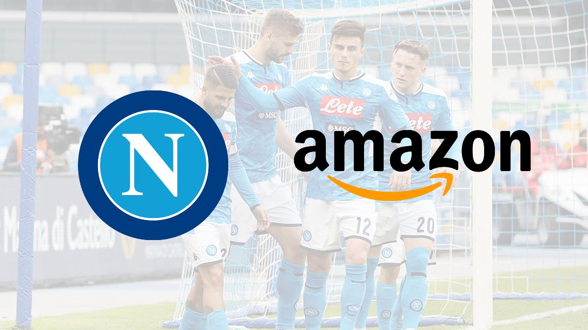 Napoli lands '€2m' Amazon sleeve sponsorship deal