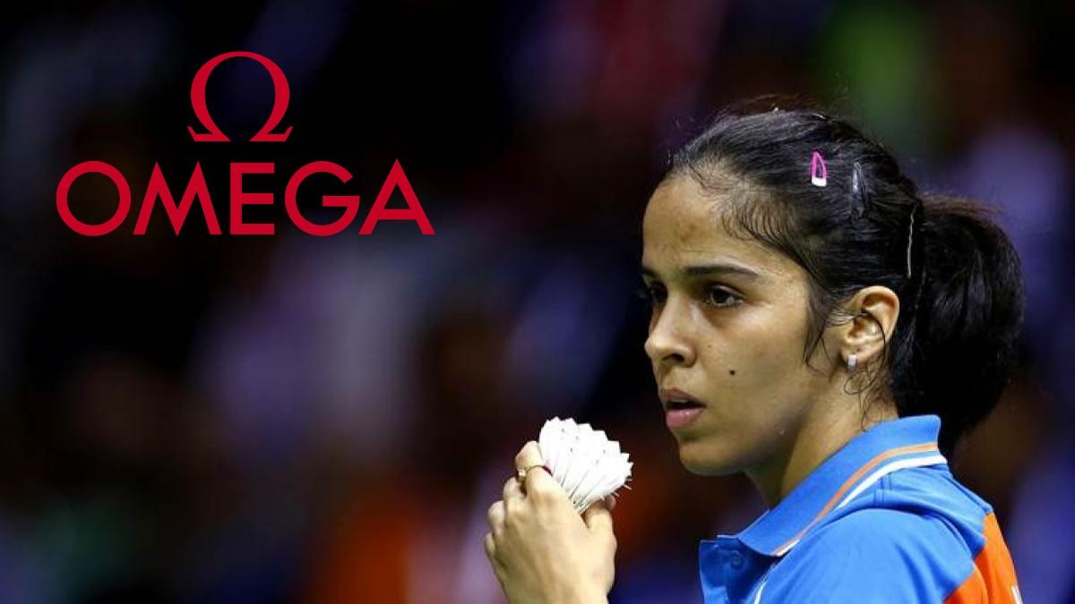 Omega teams up with Saina Nehwal