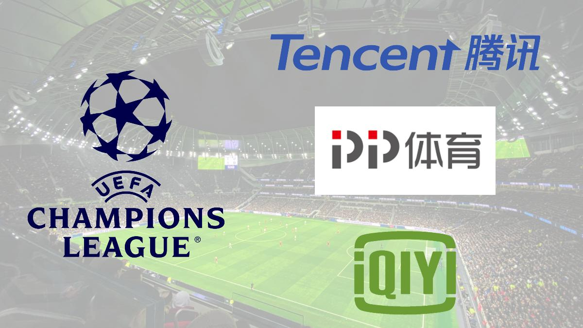 Champions League lands streaming rights deal with PP Sports, Tencent, iQiyi in China