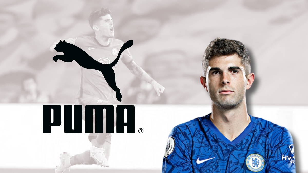 Pulisic signs a new long-term deal with Puma