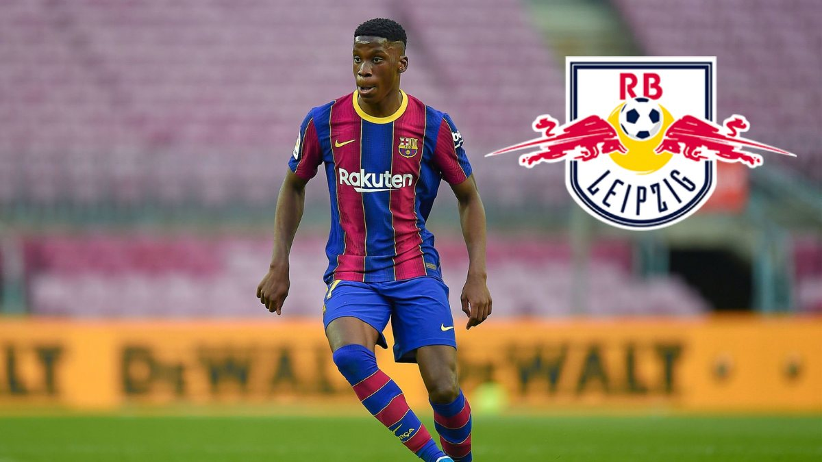 RB Leipzig sign Ilaix Moriba from FC Barcelona