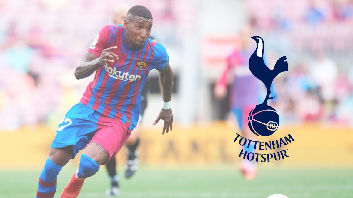 Spurs to sign Emerson Royal from FC Barcelona