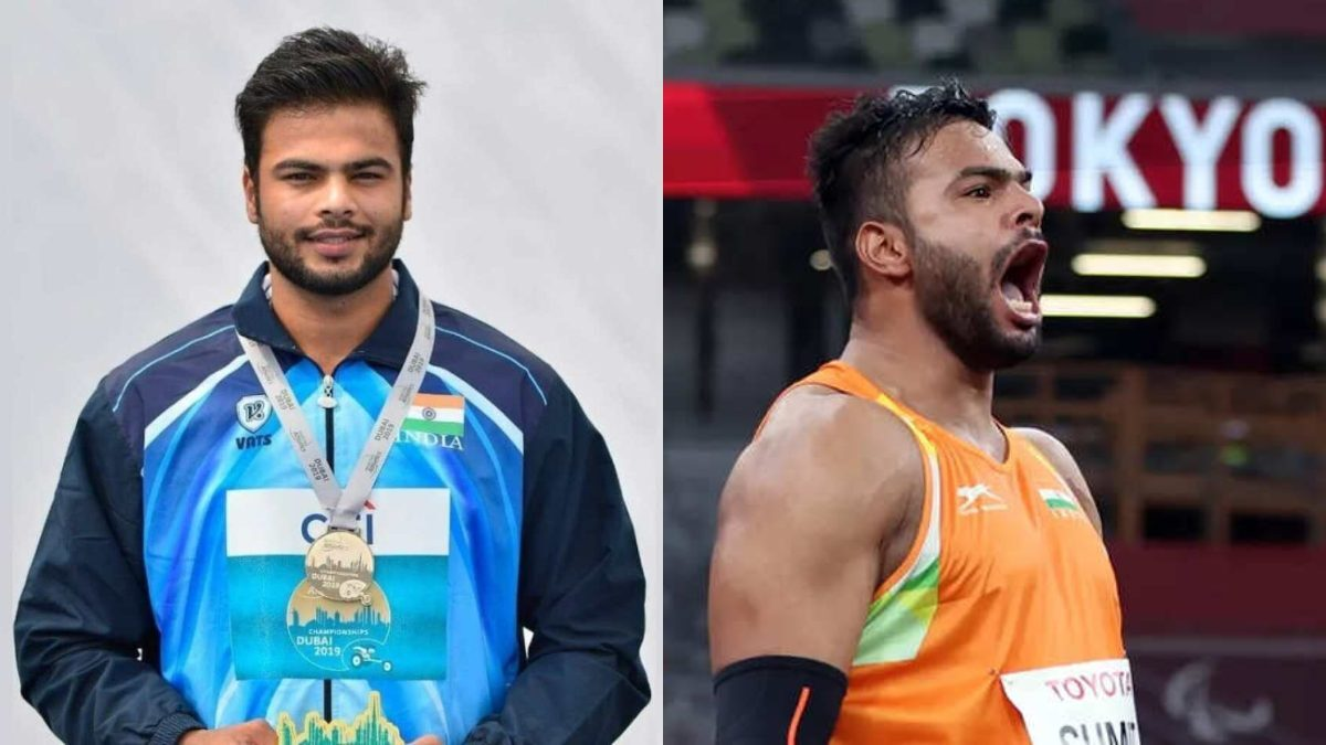 Sumit Antil claims gold in javelin F64