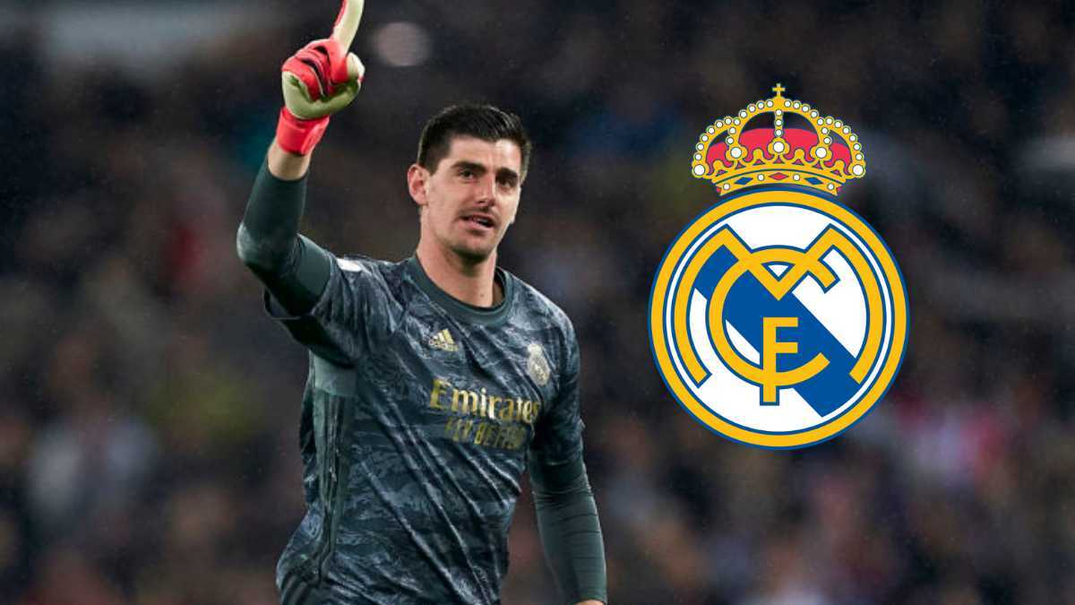 Thibaut Courtois renews contract with Real Madrid CF