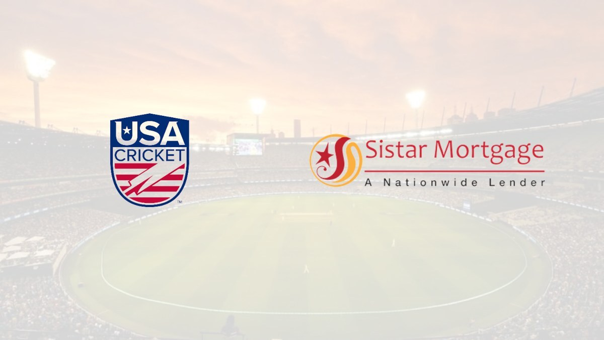 USA Cricket signs first-ever national sponsorship deal with Sistar Mortgage