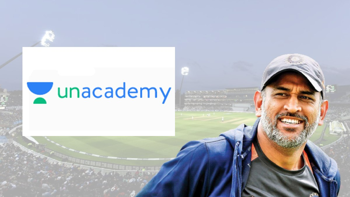 Unacademy signs MS Dhoni as the new brand ambassador