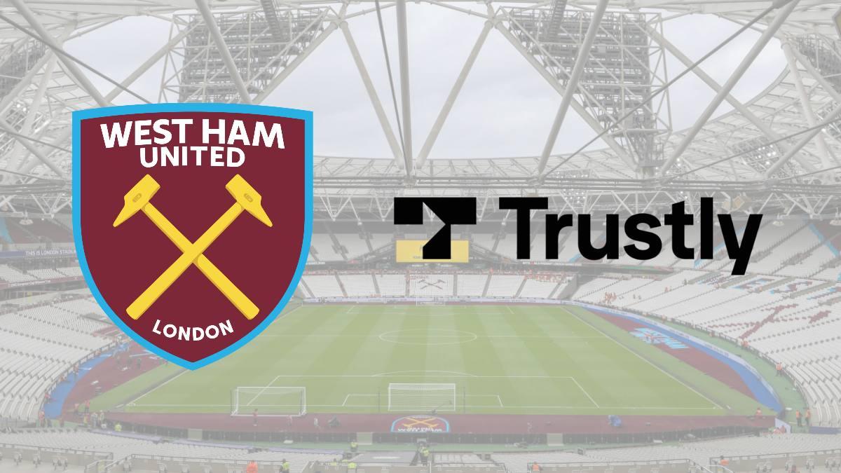 West Ham United enhances its partnership with Trustly as sleeve sponsor